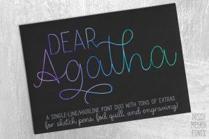 Dear Agatha