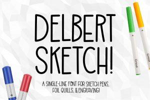 Delbert Sketch
