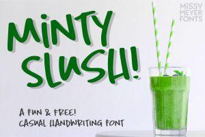 Minty Slush