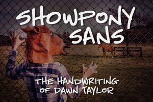 Showpony Sans