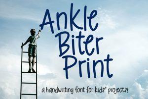 Ankle Biter Print