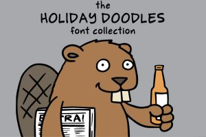 Holiday Doodles Fonts