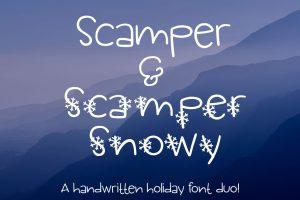 Scamper & Scamper Snowy