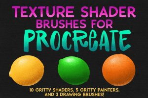 Read more about the article Procreate Texture Shaders Brush Set!