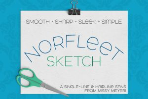 Read more about the article Norfleet Sketch Font